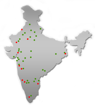 India Map Graph